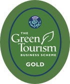 Green tourism award gold
